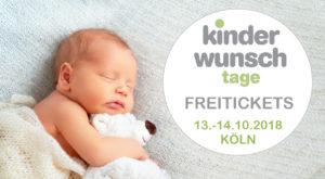 Kinderwunsch Tage Okt. 2018 Freitickets
